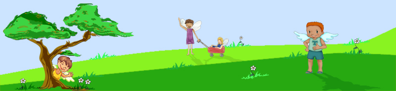 Child Like Creation Scene Footer